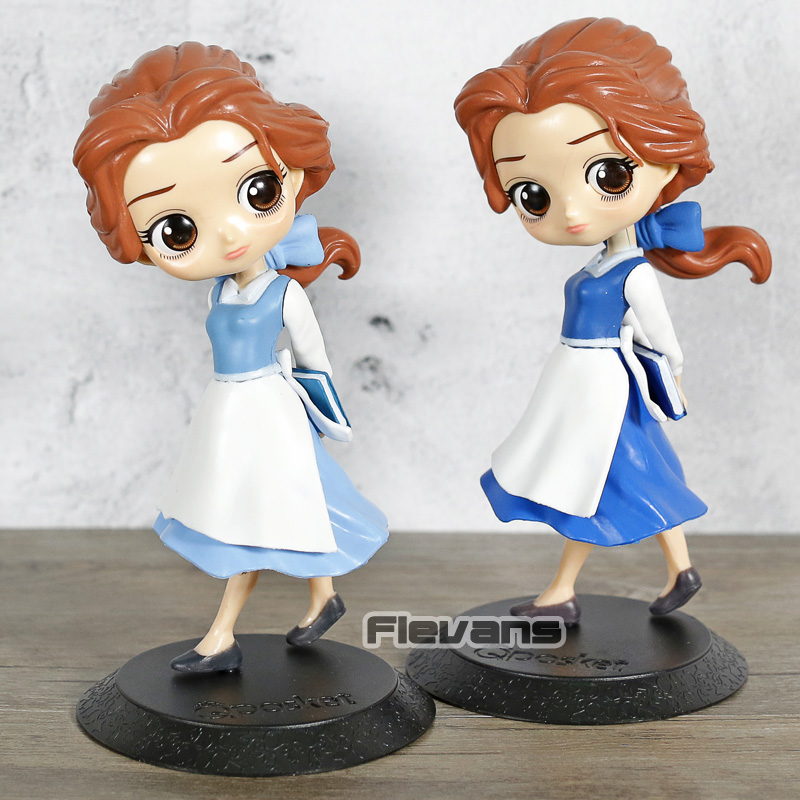 Q Posket Dolls Princess Belle Country Style PVC Figure Collectible Qposket Figurine Toy figurine