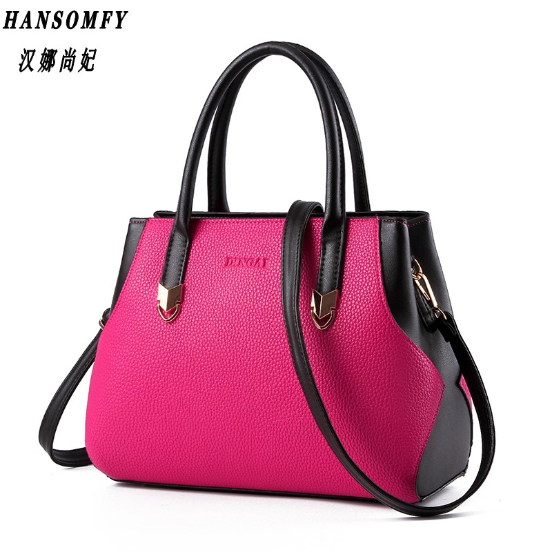 100% Genuine leather Women handbags 2018 New bag lady lady mosaic fashion handbag Crossbody Shoulder Handbag Messenger