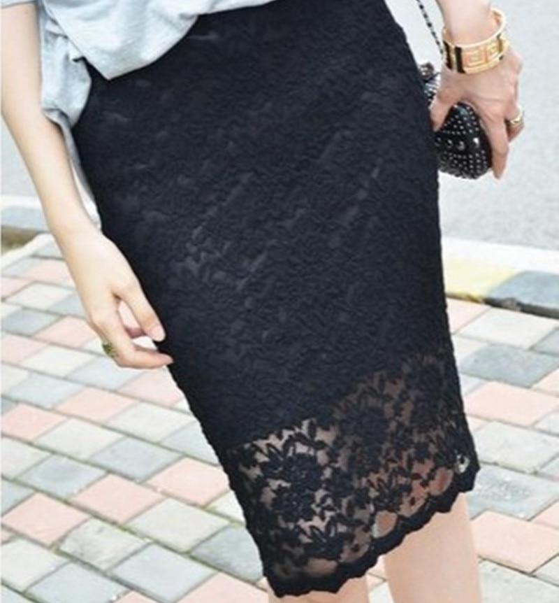 Free Shipping Customized 2013 New Fashion Summer Plus Size 5XL Elegant Ol Slim Skirt Pencil Knee