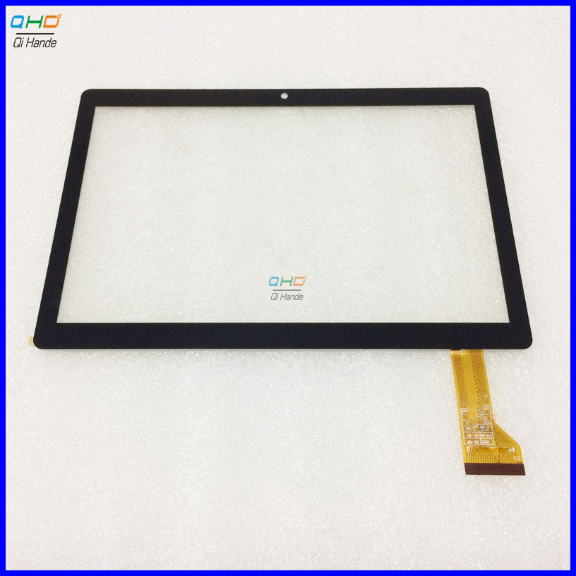 New Touch screen Digitizer For 10.1 OVERMAX QUALCORE 1027 3G Tablet touch panel Glass Sensor replacement Overmax 1027 дефлекторы vinguru дефлекторы окон mitsubishi pajero iv