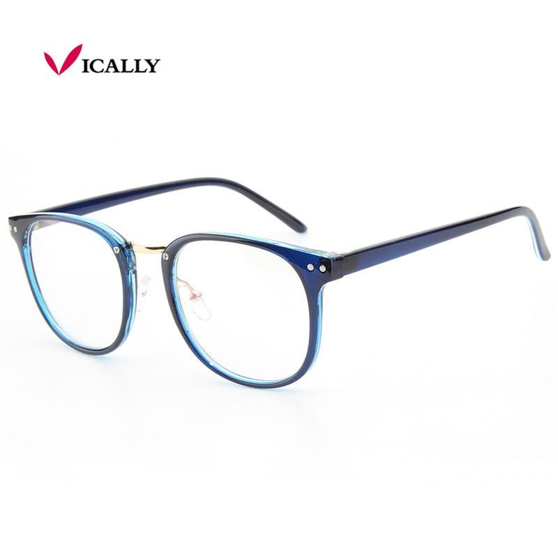 59c22f8f005 Newest Oversize Glasses Frames Metal Leg Vintage Eyeglasses Frame Women Men  Fake Plain Glasses Fashion Eyewear For Woman man-in Eyewear Frames from  Apparel ...