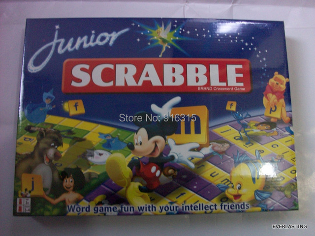 Children Scrabble Games Brand Crossword Game Word Games JUNIOR SG-003