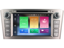 Octa(8)-Core Android 6.0 CAR DVD player FOR TOYOTA AVENSIS 2005-2007 car audio gps stereo head unit Multimedia navigation