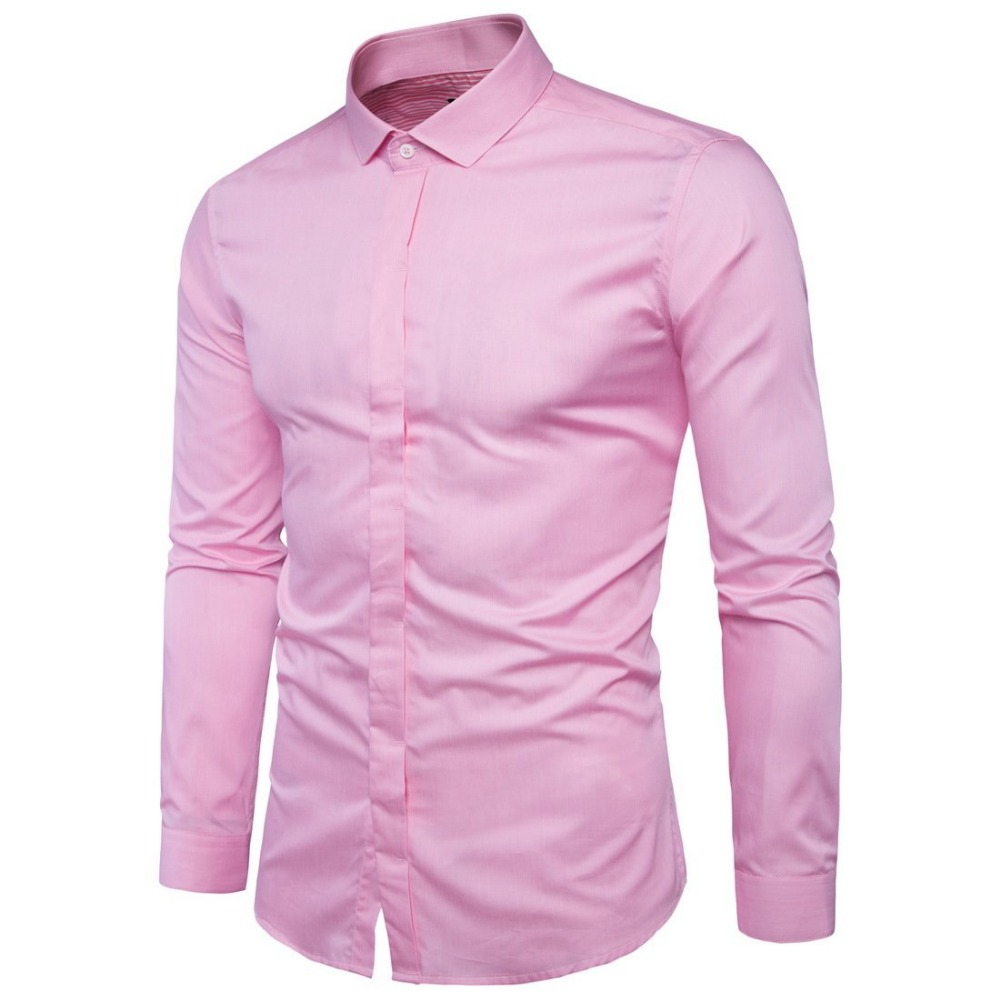 Compare Prices on Pink Shirt for Men- Online Shopping/Buy Low ...