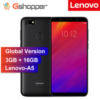 Lenovo A5 Global Version 3GB RAM 16GB ROM Mobile Phone MTK6739 Quad Core 5.45' Smart Phone Fingerprint 4G LTE Cellphone