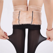2018 New Leggings Female Super Sexy And Warm Winter Thick Section Of The Waist Of The Women's Super Elastic Winter Leggings