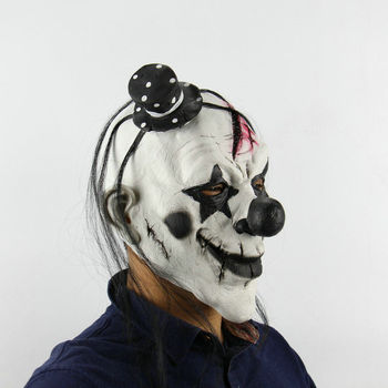 Adult Clown Halloween Mask  1