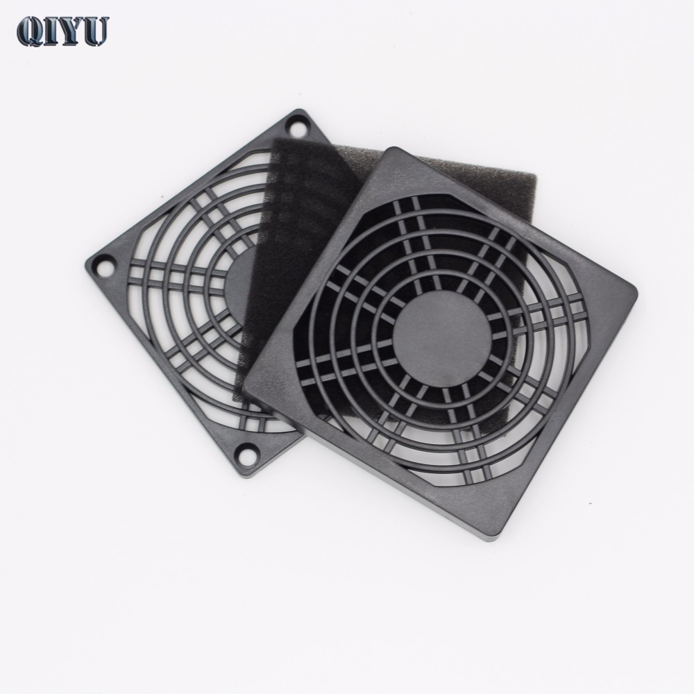 Dustproof 80mm PC Case Fan Dust Filter Guard Grill Protector Cover Plastic Computer Cooling Fan Cooler Radiator Cover Net