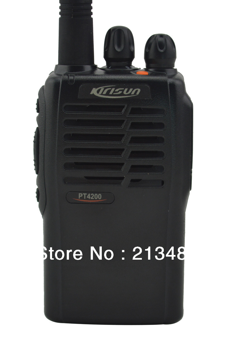 Kirisun PT4200 UHF 420-470MHZ Portable Professional Two-way Radio