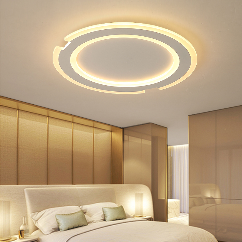 New White Minimalism Modern led ceiling lights for living room bedroom AC85-265V Home Decor Lighting fixtures lampara de techo new modern led ceiling lights for living room bedroom ceiling lamp lamparas de techo ac85 265v home decoration lighting fixtures