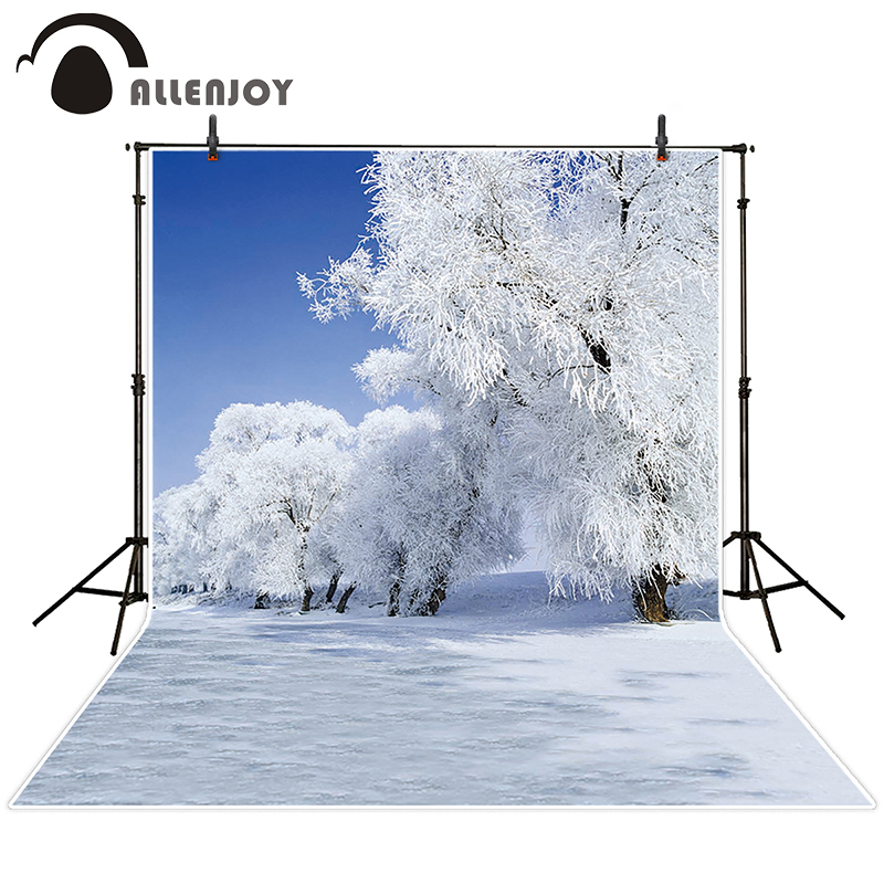 kate photographic background Snow Sky Tree backdrops princess boy Excluding bracket Send rolled 5x7ft майка классическая printio античная красота