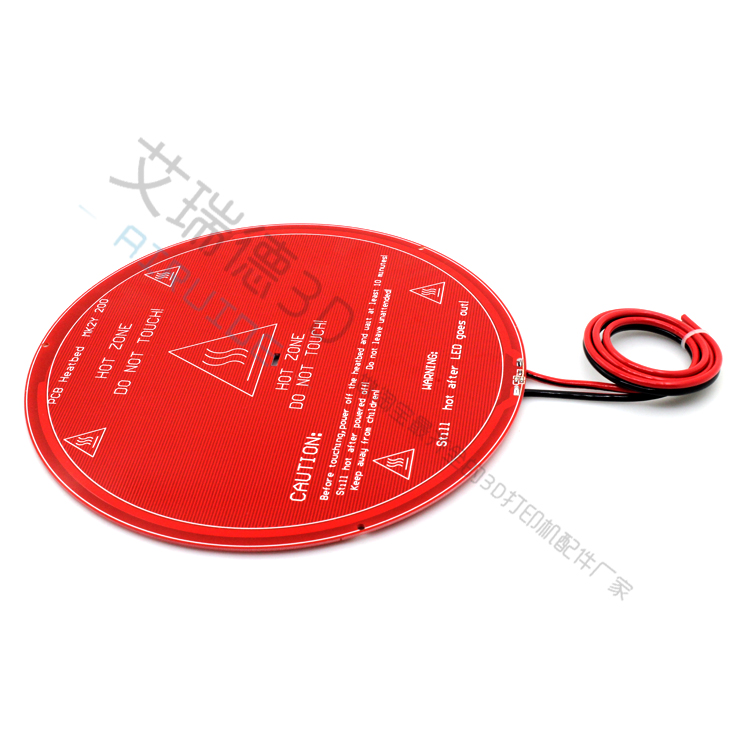 Audacious Swmaker 220mm Round Heated Bed Mk2y Welding Wire Round Diameter 220mm Pcb Hot Bed Excellent Quality In