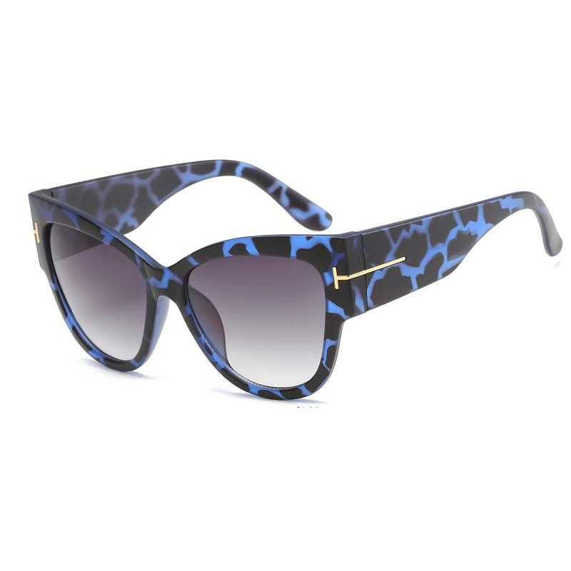 famous <font><b>Brand</b></font> <font><b>Designer</b></font> Fashion <font><b>Cat</b></font> <font><b>Eye</b></font> Gradient <font><b>Sunglasses</b></font> <font><b>Women</b></font> <font><b>Sexy</b></font> Oversize Square Classic Shades UV400 Men's Sun glasses image