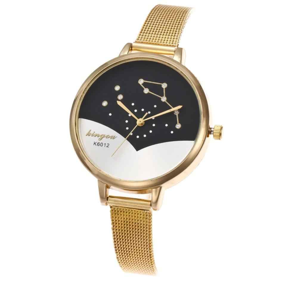 2020 relojes de moda para mujer, relojes de lujo de oro rosa, Modelo Especial para mujer, reloj de pulsera de cuarzo con diamantes