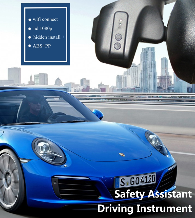 Plusobd Hd Car Dvr Hidden Dash Cam Fhd 1080p Wifi Camera For Porsche 911 Boxster Night Vision Novatek 96655 With Aluminum Alloy In From