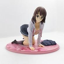 Saenai Heroína Não Sodatekata Katou Megumi 12 cm Sexy Girl Pvc Action Figure Modelo Coleção de Brinquedos Kasumigaoka Utaha