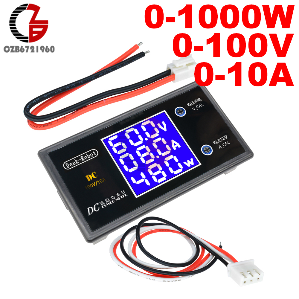 Creative Yb5135b Dc Ammeter Current Meter 200ma 2a 5a 10a 20a 50a 100a 200a 300a 500a 1000a Led Digital Milli Amp Meter Micro Ammeter Less Expensive Electrical Instruments