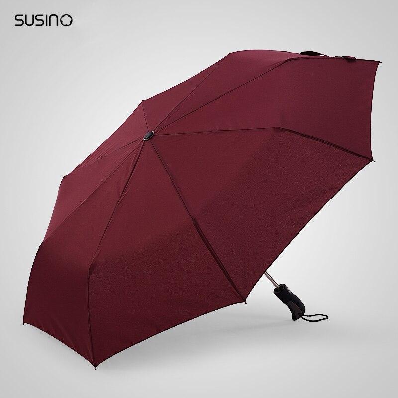 Marca West Auto Open//Close Compact Anti-UV Parasol Sun//Rain Windproof Umbrella