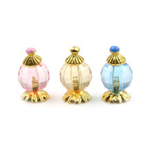 3pcs/lot Transparent Perfume House Furniture 1:12 Dollhouse Accessorie Dollhouse Miniature Bathroom Bedroom Miniatures Dolls(China)