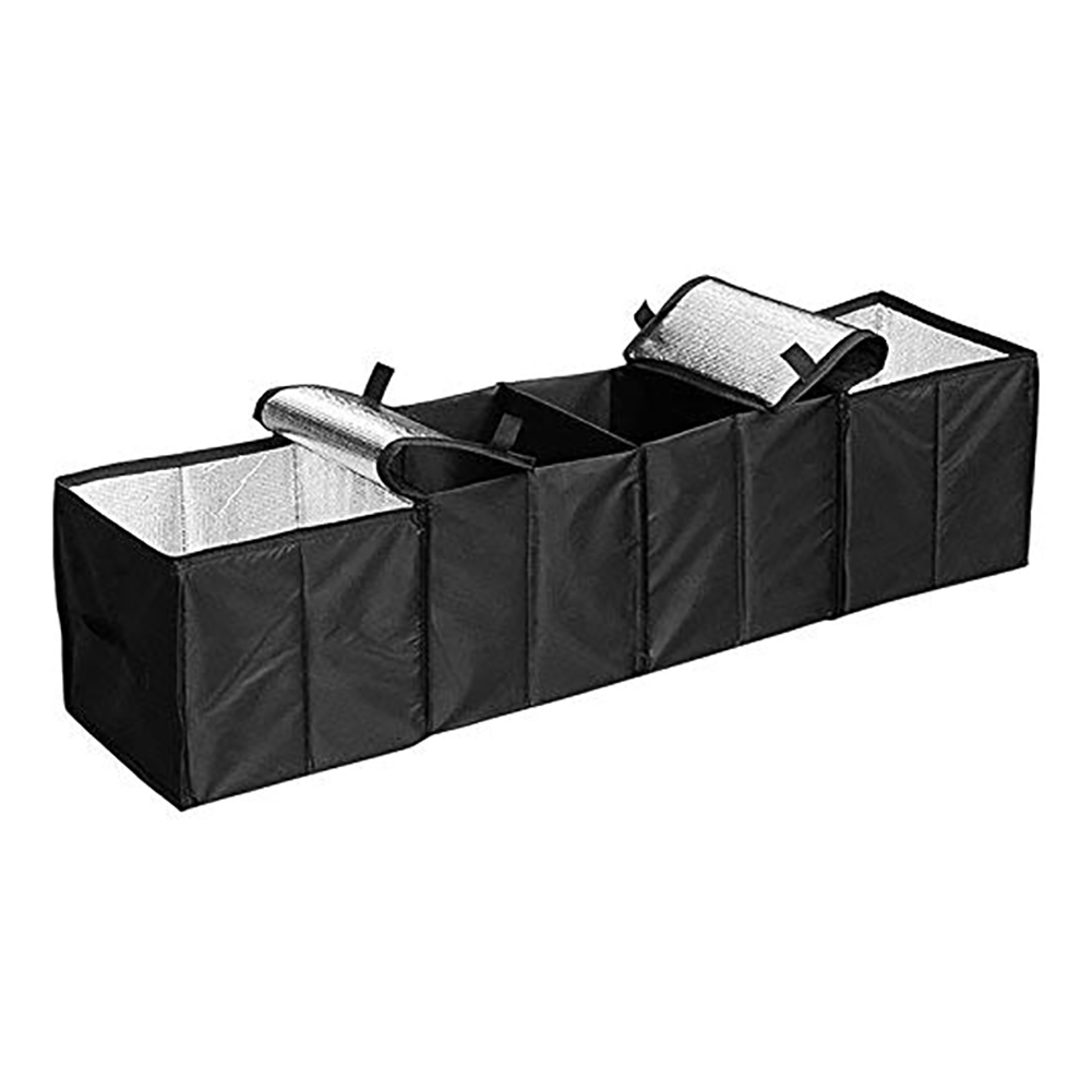 Large Capacity Foldable Car Multi-Pocket Organizer Trunk Collapsible Toys Food Storage Bag Car Stowing Tidying Car Styling