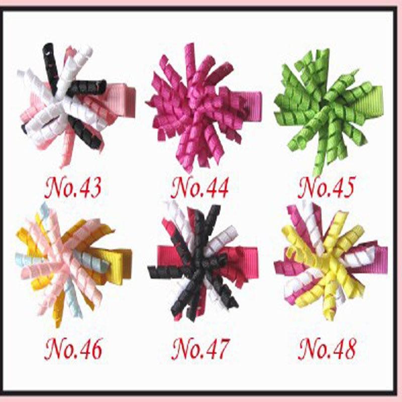 "200 BLESSING Girls 1.75/"" Corker Hair Bow Use 1//8/""  Ribbon 114 No."