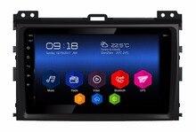 Reproductor multimedia de coche avanzado 6.0.1 android 2 gb ram 32 gb rom coche estéreo completo táctil de radio para toyota prado lc120 wifi 3G gps