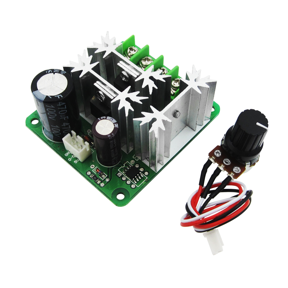 Dc 12v 24v 36v 500w Brushless Motor Controller Hall Balanced Supply 5v Vcc And To 30v Input Led Driver Application Circuits 6v 90v 15a Speed Stepless Regulation Pulse Width Pwm