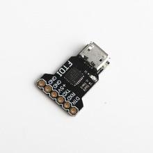цена на USB to serial TTL level module USB to TTL programmer, serial debugger STC FTDI 5V OSD programmer CP2108