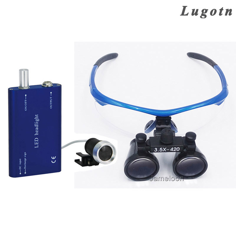 3.5X magnification surgical enlarge medical binocular magnifier with LED optical glass dental dentist operation loupe3.5X magnification surgical enlarge medical binocular magnifier with LED optical glass dental dentist operation loupe