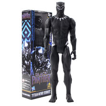 Infinito Guerra Titan Série Herói Marvel Avengers Black Panther Collectible Modelo Toy Action Figure PVC(China)