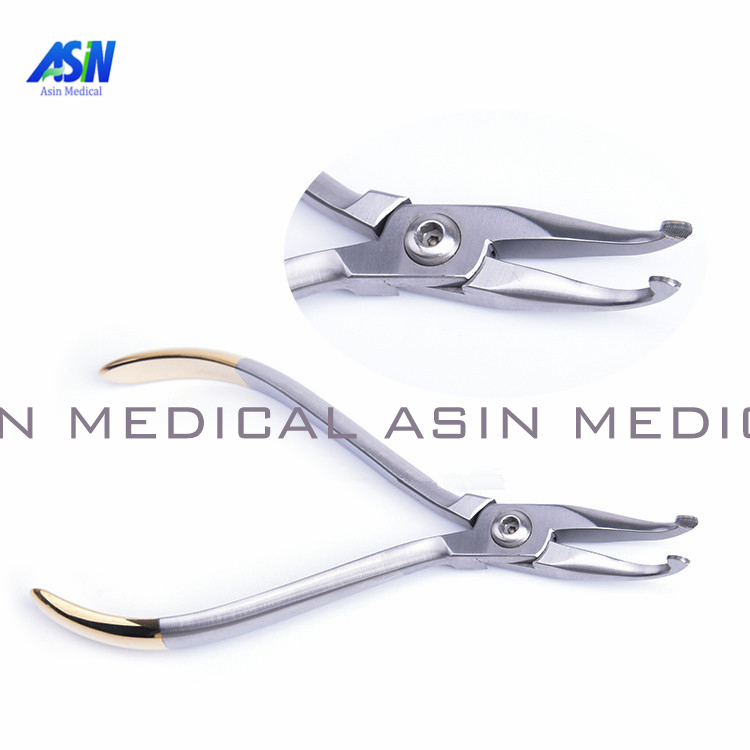 2017 New Dental orthodontic pliers elbow Khodorkovsky with tungsten steel tools kim dental pliers dental orthodontic kim multi curved square wire bending forming pliers dental tools