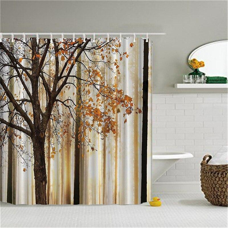 SPA vodootporna zavjesa za tuširanje kupaonica dekor jasmin cvijet - Kućanski robe - Foto 6