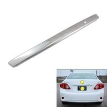 цена на Abs Chrome Car Rear Trunk Molding Lid Cover Trim For Toyota Corolla 2008-2013 E140 Car trunk trim