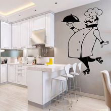 Beauty cook kitchen Waterproof Wall Stickers Art Decor For Kids Rooms Nursery Room Sticker Home