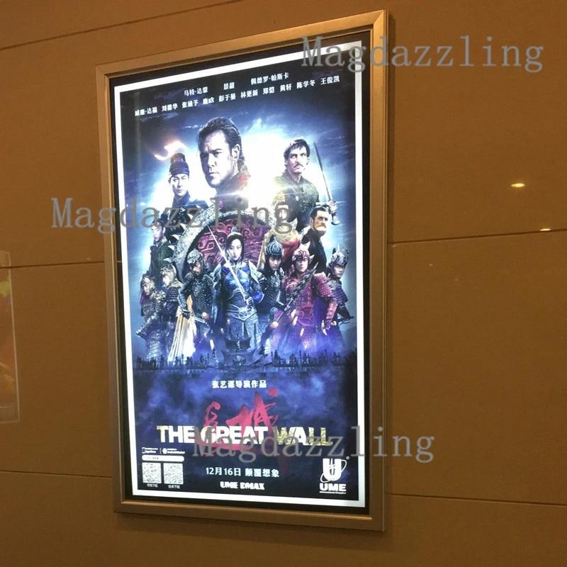 home decor artwork lightbox movie poster light box display frame cinema sign 24 x36