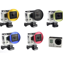 Filter Shackle Gopro Diving Gopro Accessories 52 Mm Filter Necessary for Gopro Hero4/3 + Hero3 Hero4