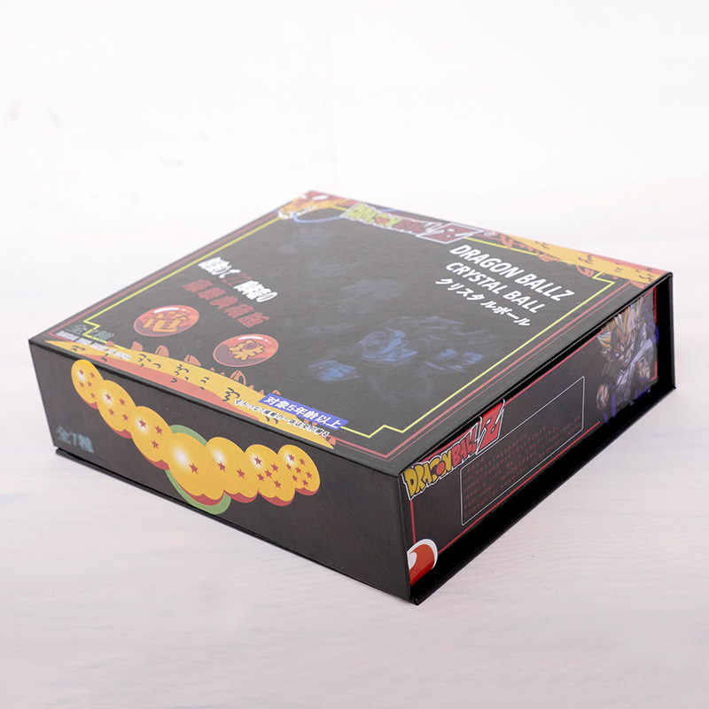 7 pçs/set 3.5 CENTÍMETROS Dragon Ball DragonBall Z Estrelas Crystal Balls 7 Bola Conjunto Completo Novo Na Caixa de Varejo/Atacado Frete Grátis
