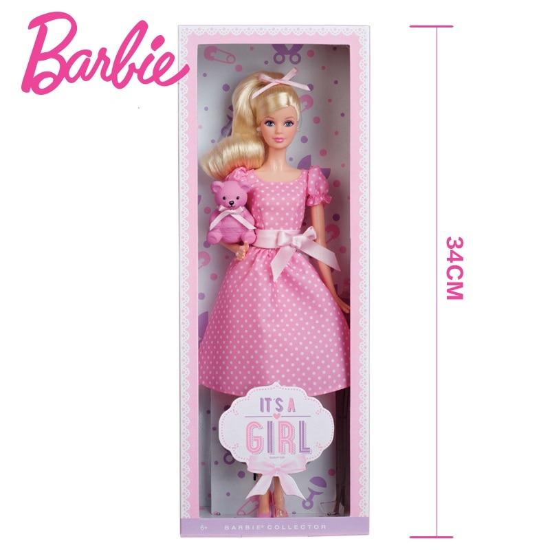 Collezione di Bambole Barbie Bambole Originali Rosa Benedizione Vestito Dal Puntino Orso Sveglio Della Principessa Dei Bambini Giocattoli Regalo di Compleanno Ragazze Regalo X8428-in Bambole da Giocattoli e hobby su  Gruppo 3