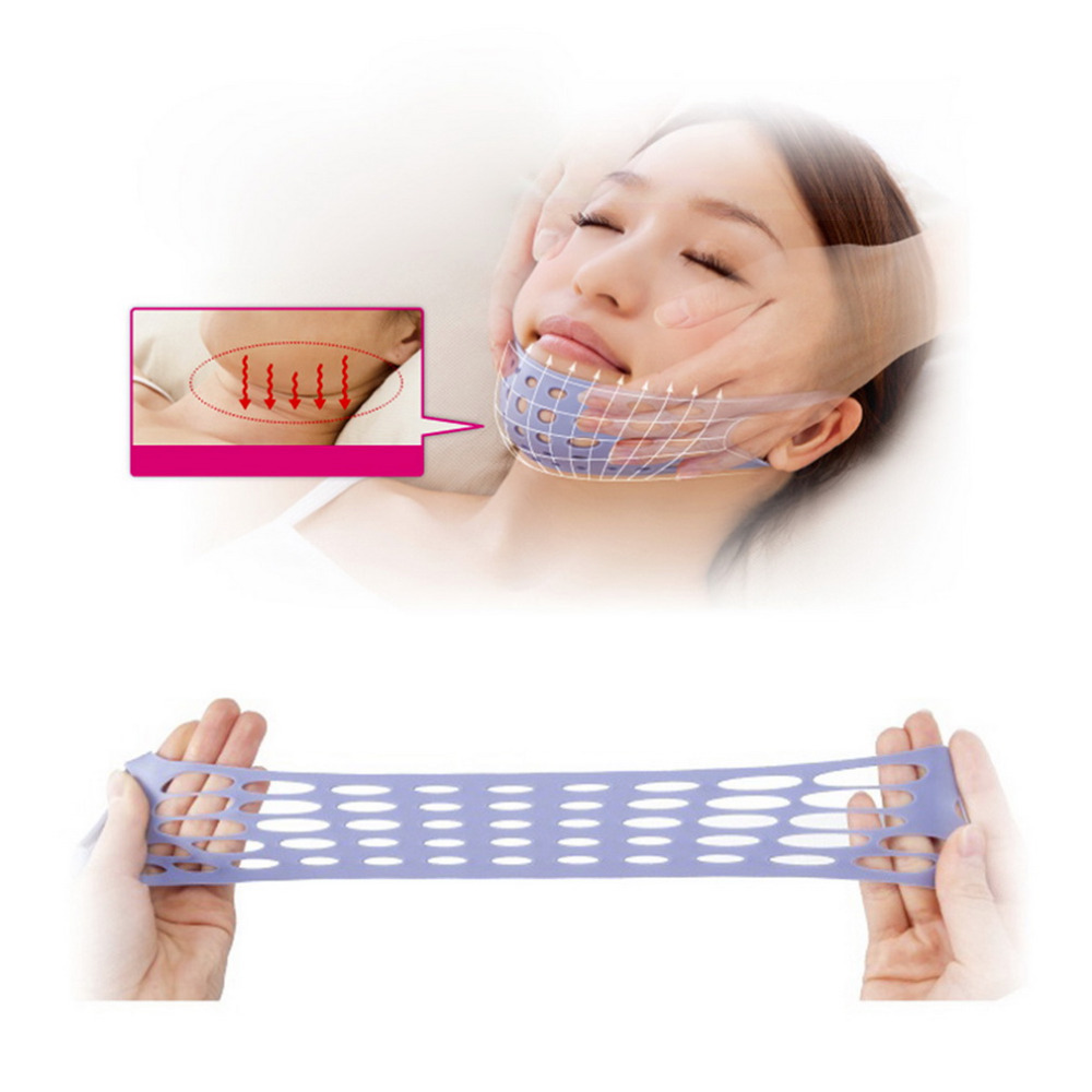 Health Care Face Shaping Belt Facial Slimming Fat Burning Face-lift Mask Massage Slimming Face Shaper Relaxation Fashion Beauty