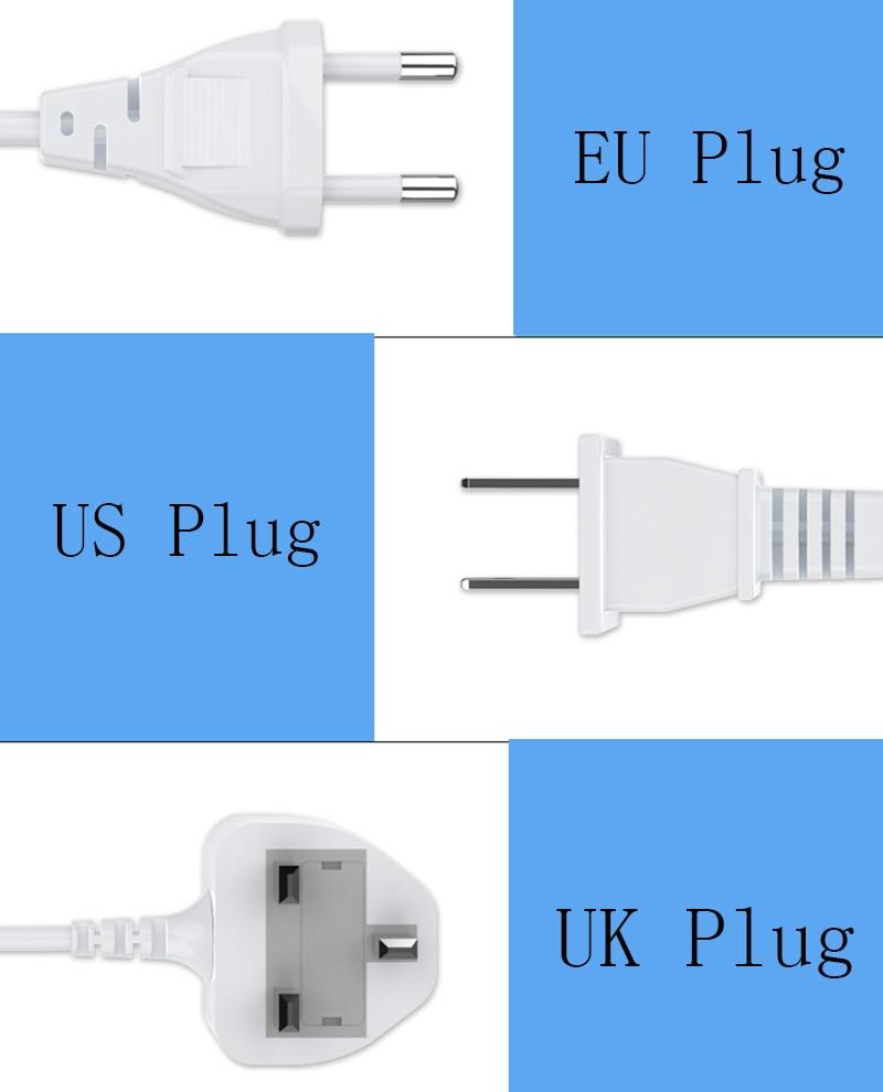 Thbelieve 8 USB Draadloze Opladen EU UK US Plug 1.5 meter Kabel HUB Draadloze Opladen Pad Voor Smartphone 5 v met Retail Pakket - 6