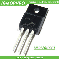 10pcs MBRF20100CT 20100CT MBRF20100 Schottky & Rectifiers 20A TO-220F new original