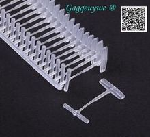 10000pcs Gagqeuywe I-type plastic needle pines clothing label  Clothing accessories 10mm 12mm 20mm 30mm