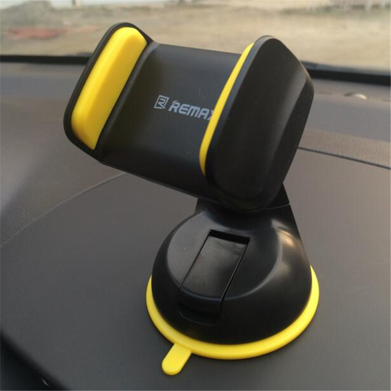 Remax Brand Universal  Degree Car Stick Windshield Mount Stand Holder For Cellphone Mobile Phone Gps