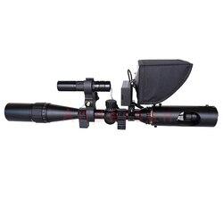 Caliente 2019 nueva actualización LCD monitor telescopio binoculares vista táctico rifloscopio visión nocturna infrarroja con sombrilla