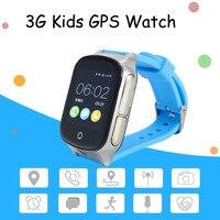A19子供正確な3グラムスマートgps腕時計a19サポートgps wifi sos lbsカメラ見つけファイン