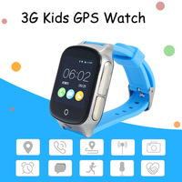 A19 Kid Precise 3G Smart GPS Watch A19 support GPS WIFI SOS LBS Camera Locate Finder emergency call for 3G child smartwatch