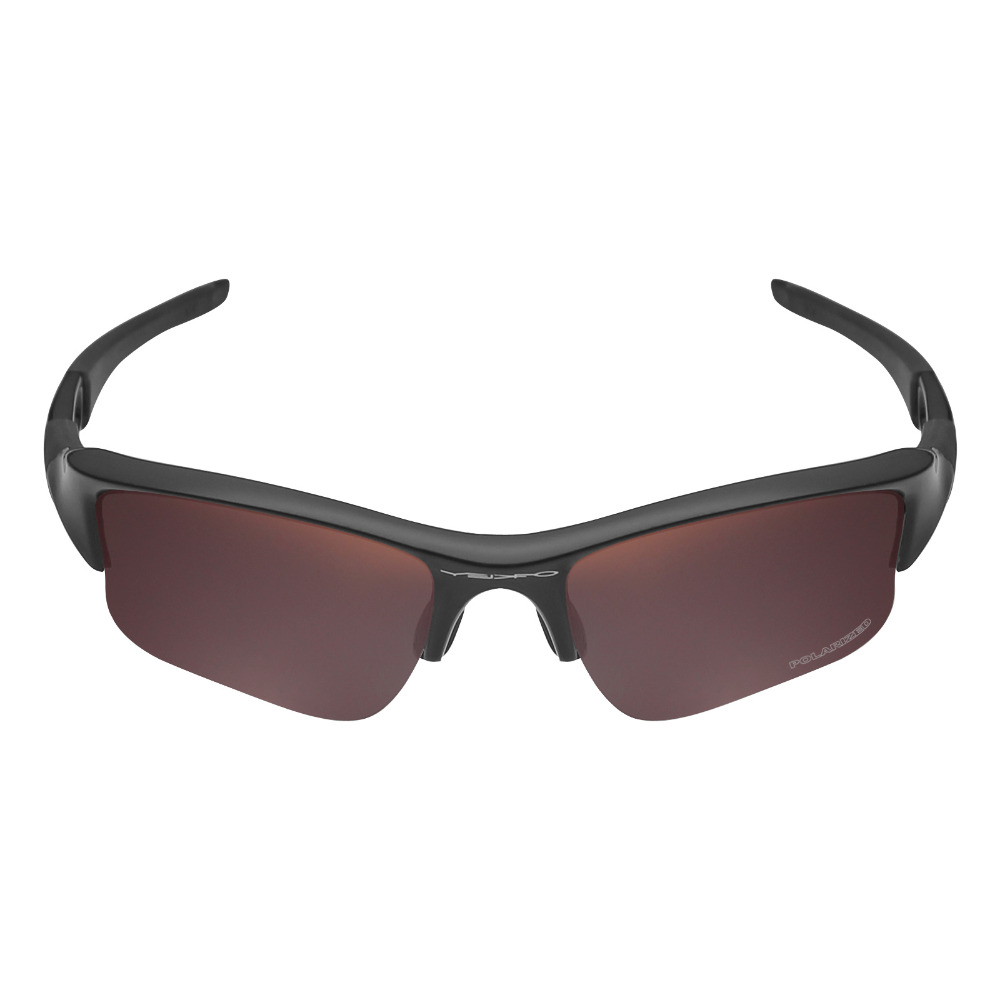 afa7069b38576 Mryok+ POLARIZED Resist SeaWater Replacement Lenses for Oakley Flak Jacket  XLJ Sunglasses Bronze Brown-in Accessories from Apparel Accessories on ...