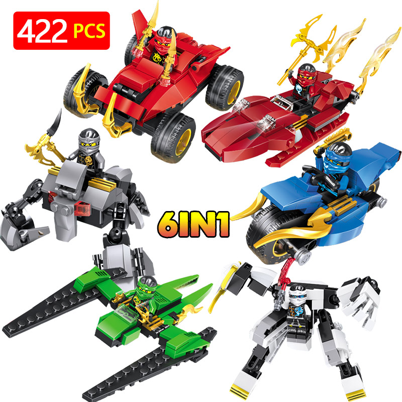 Ninjiago Movie Series Warrior JAY Cole Model Blocks Compatible LegoINGLYS Weapons Action Figures Bricks Fun Toys For Children loz diamond blocks dans blocks iblock fun building bricks movie alien figure action toys for children assembly model 9461 9462