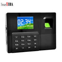 SmartYIBA 2.8 Inch TFT TCP/IP USB Backup Battery Biometric Fingerprint Password Attendance Machine System Employee Recorder Time