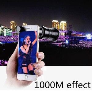 Image 5 - 18 30X hdプロ携帯電話カメラ望遠鏡レンズiphone xiaomi調節可能な望遠ズームレンズスマートフォンlentesキット